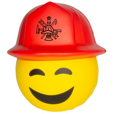 Firefighter Emoji Squeezies® Stress Reliever