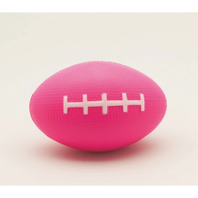 Pink Football Stress Reliever