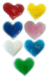Heart Gel Beads Hot/Cold Pack