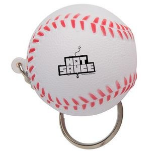 Baseball Stress Reliever Keychain