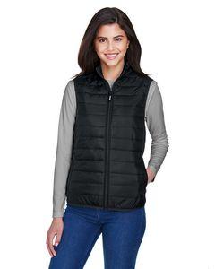 Custom CORE365 Ladies' Prevail Packable Puffer Vest