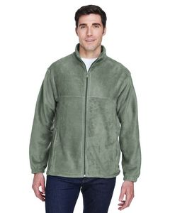 Harriton Mens 8 Oz. Full-Zip Fleece Jacket