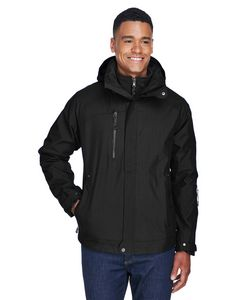 Custom North End Men's Caprice 3-in-1 Jacket w/Soft Shell Liner