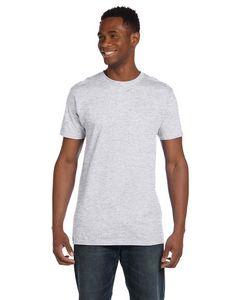 Custom Hanes 4.5 Oz. 100 percent Ring Spun Cotton nano-T T-Shirt