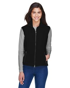 Custom Ladies' North End 3 Layer Light Bonded Performance Soft Shell Vest