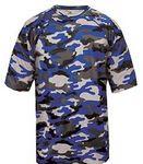 Custom Badger Youth Camo Short-Sleeve T-Shirt