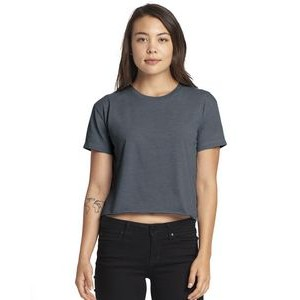NEXT LEVEL APPAREL Ladies' Festival Cali Crop T-Shirt