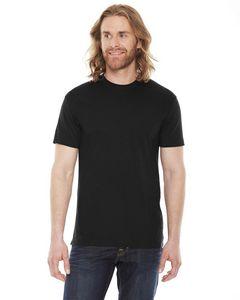 Custom American Apparel Unisex Poly-Cotton Short-Sleeve Crew Neck T-Shirt