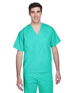 Custom Harriton Adult Restore 4.9 Oz. Scrub Top
