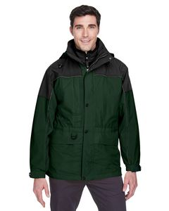 Custom North End Men's 3-in-1 Two-Tone Parka