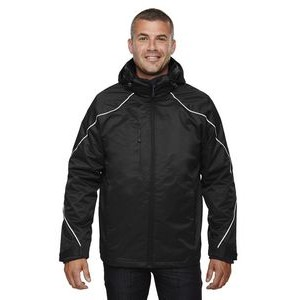 NORTH END Men's Tall Angle 3-in-1 Jacket with Bonded Fleece Liner