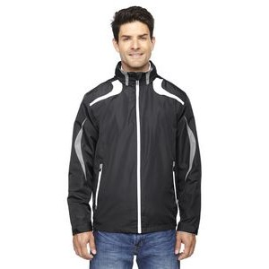 NORTH END SPORT RED Men's Impact Active Lite Colorblock Jacket