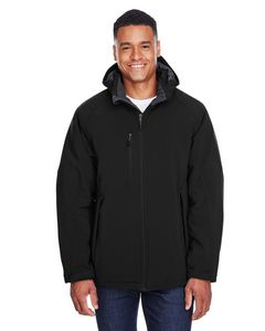 Custom North End Men's Glacier Insulated Soft Shell Jacket w/Detachable Hood