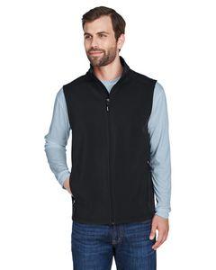 Custom CORE365 Men's Cruise 2 layer Fleece Bonded Soft Shell Vest