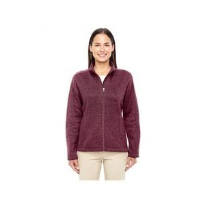 Devon and Jones Ladies' Bristol Full-Zip Sweater Fleece Jacket