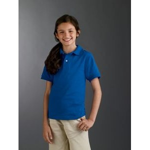 Jerzees Youth 5.6 oz. SpotShield? Jersey Polo