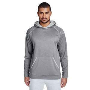 Team 365 Adult Excel Mélange Performance Fleece Hoodie