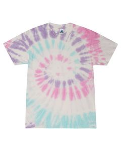 Custom Tie-Dye 5.4 Oz. 100 percent Cotton Tie-Dyed T-Shirt