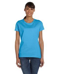 Custom Fruit Of The Loom Ladies' 5 Oz. 100 percent Heavy Cotton HD T-Shirt