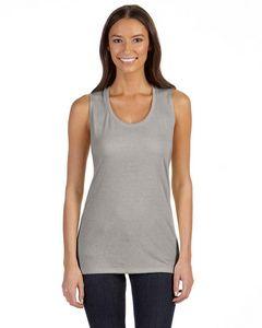 BELLA+CANVAS Ladies Flowy Scoop Muscle T-Shirt