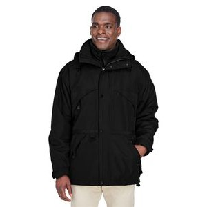 NORTH END Adult 3-in-1 Parka with Dobby Trim