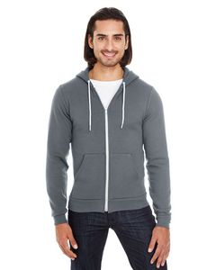Custom American Apparel Unisex Flex Fleece Zip Hoodie