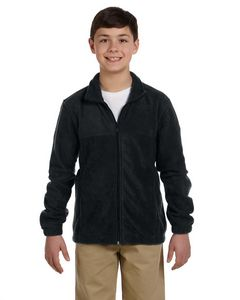 Custom Harriton Youth 8 Oz. Full-Zip Fleece Jacket
