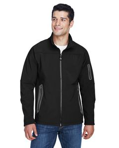 Custom Men's North End 3-Layer Fleece Bonded Soft Shell Technical Jacket