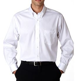Van Heusen Mens Long Sleeve Non-Iron Dress Shirt