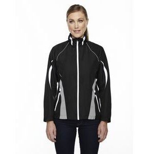 NORTH END SPORT RED Ladies' Impact Active Lite Colorblock Jacket
