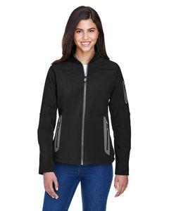 Custom Ladies' North End 3 Layer Fleece Bonded Soft Shell Technical Jacket