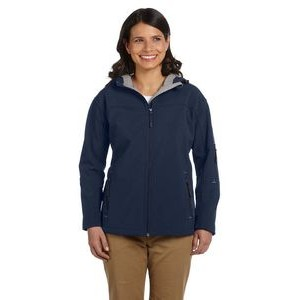 Devon and Jones Ladies' Soft Shell Hooded Jacket
