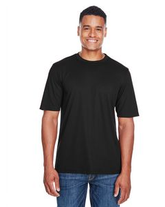 Custom Men's Pace CORE365 Performance Pique Crew Neck T-Shirt