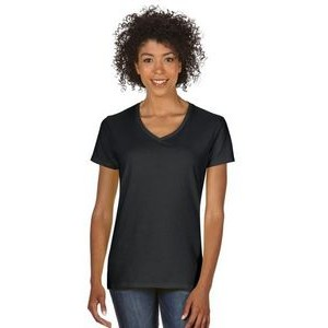 Gildan Ladies' Heavy Cotton? 5.3 oz. V-Neck T-Shirt