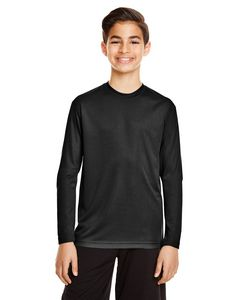 Custom Team 365 Youth Zone Performance Long-Sleeve T-Shirt