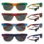 Custom Soft Feel Color Blend Sunglasses