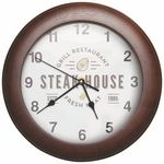 Custom Round Wood Clock