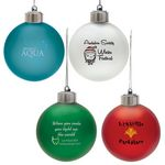 Custom Light-Up Shatter Resistant Ornament