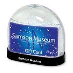Custom Gift Card Snow Globe