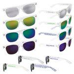 Custom Mirrored Lens Sunglasses