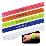 Custom Reflective Safety Slap Bracelet