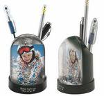 Custom Pencil Cup Snow Globe