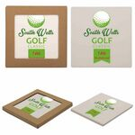 Custom Square Absorbent Stone Coaster