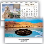 Custom Christian Reflections Standard Desk Calendar