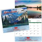 Custom American Splendor Spiral Wall Calendar
