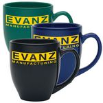 Custom Bistro 14 Oz. Colored Mugs