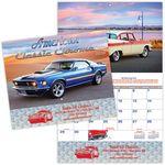 Custom American Classic Chrome Stitched Wall Calendar