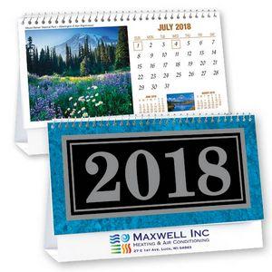 Scenes Across North America Marble Cover Standard Desk Calendar
