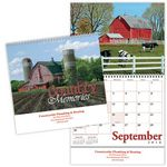 Custom Country Memories Spiral Wall Calendar