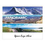 Custom Panoramic Memo Spiral Wall Calendar
